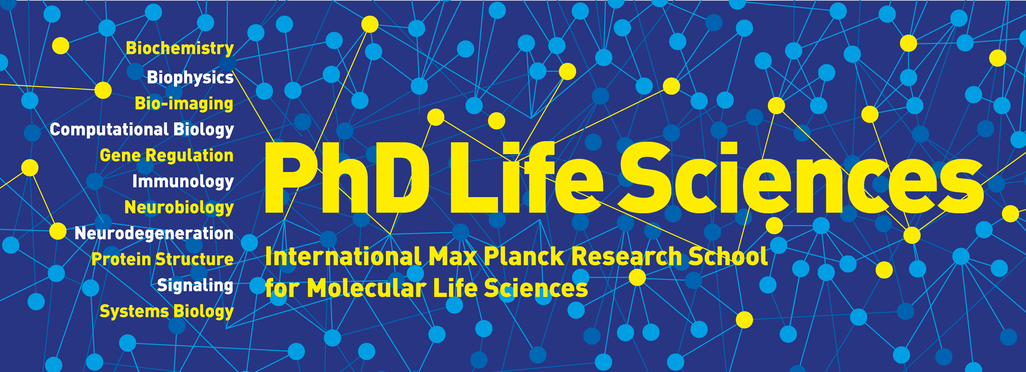 Upcoming Events | IMPRS for Molecular Life Sciences: From